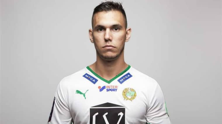 Bajen lånar in 25-årige anfallaren Alexssander Medeiros de Azeredo från Resende FC. Foto: hammarbyfotboll.se