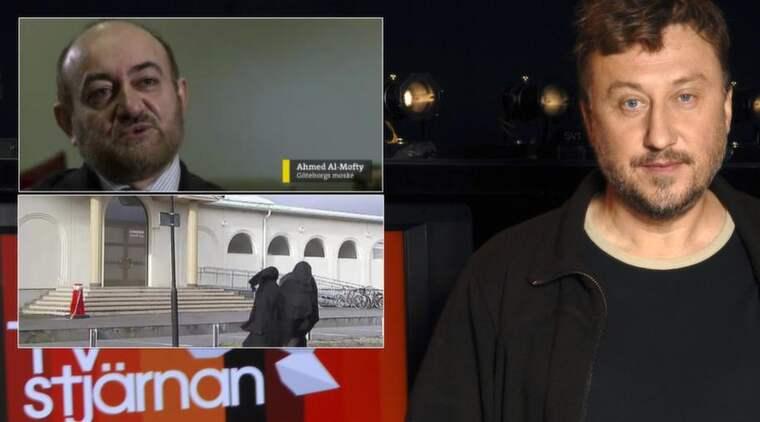 """KAN ANMÄLAS. I kväll sänder """"Uppdrag Granskning"""" ett reportage där Göteborgs moské kritiseras för sin kvinnosyn. Men programmet är medvetet klippt för att utmåla muslimer som kvinnohatare, enligt moskéns ordförande Ahmed Al-Mofty, som hotar med polisanmälan. Janne Josefsson är programledare för """"Uppdrag Granskning"""". Foto: SVT"""