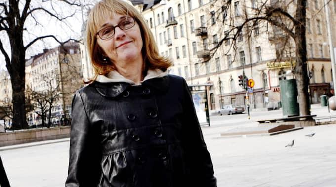 Författaren Bodil Malmsten har avlidit. Foto: Cornelia Nordström