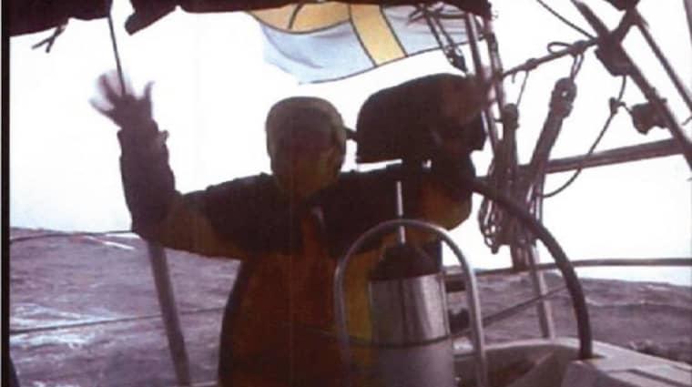 Mauritz Andersson filmade sin första seglats över Atlanten, 2006. Enligt åklagare Karin Bergstrand hade han kokain till ett värde av 40 miljoner kronor i lasten, men det lyckades hon aldrig bevisa. Foto: POLISEN