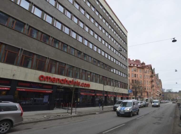 Här i centrala Stockholm greps toppåklagaren. Foto: Stefan Söderström