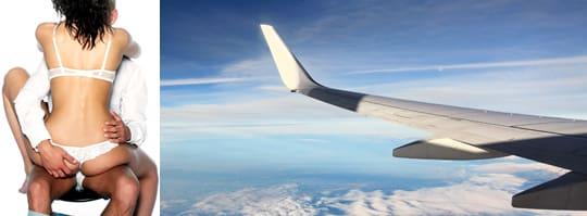 sex på flygplan