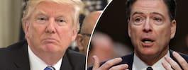 Trump: Har inga inspelade samtal med Comey