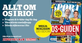 Missa inget från Rio – köp OS-magasinet
