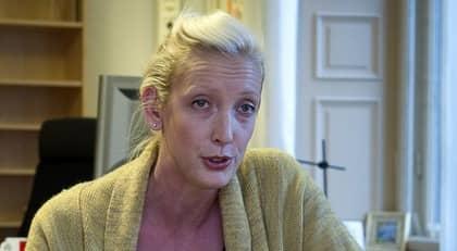INTE TROVÄRDIG. Sofia Arkelsten tackade ja till oljebolaget Shells bjudresa. Foto: Tommy Pedersen