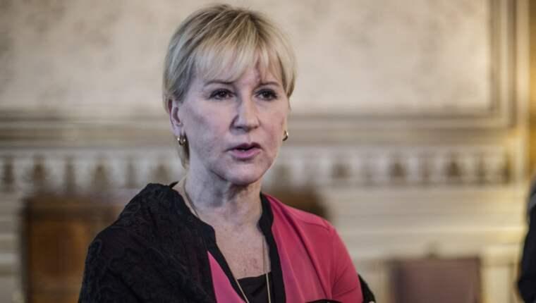 Margot Wallström ringde själv upp sin belgiske utrikesministerkollega efter attackerna. Foto: Axel Öberg