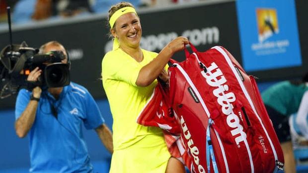 Tennisstjärnan Victoria Azarenka har blivit mamma