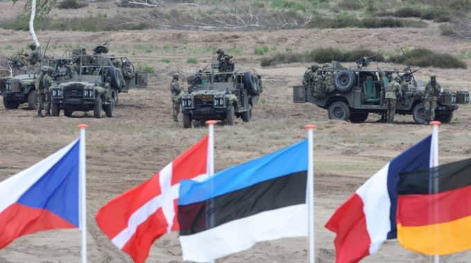 Utspelet är bland annat ett svar på Natos planer om en militär uppbyggnad på den östra flanken. Foto: Alik Keplicz