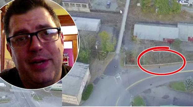 Han filmar med drönare - får se sin fru otrogen