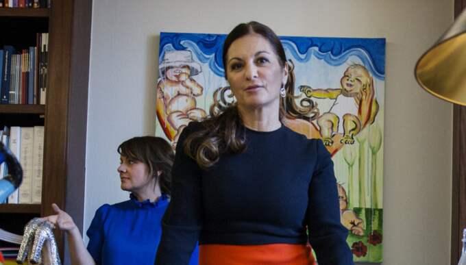 """För åtta år sedan toppade Elisabeth Mazzi Fritz Expressens lista över de hundra viktigaste kvinnorna i landet. """"Jag minns att jag blev riktigt, riktigt glad. Det kändes hedrande och gjorde att jag kämpade ännu mer för utsatta brottsoffers rättigheter"""". Foto: Lisa Mattisson"""