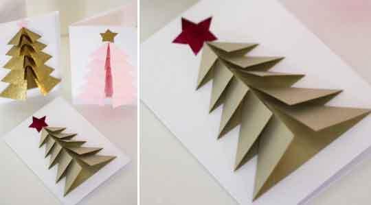Julkort u2013 så fint gör du egna med granar Leva& bo