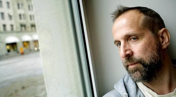- Jag skulle kunna sluta med film och teater och bara hänge mig åt det andliga, säger Peter Stormare. Foto: Hildebrandt Jörgen