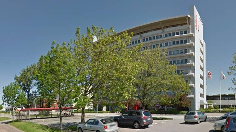 Aller Media-huset. Foto: Google street view