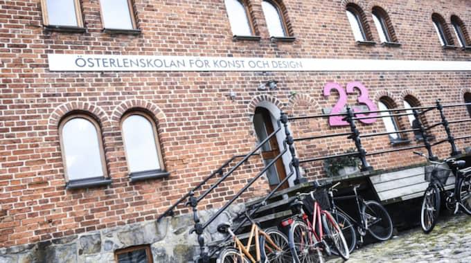 Österlenskolan för konst och design i Simrishamn. Foto: Jens Christian / EXPRESSEN/KVÄLLSPOSTEN