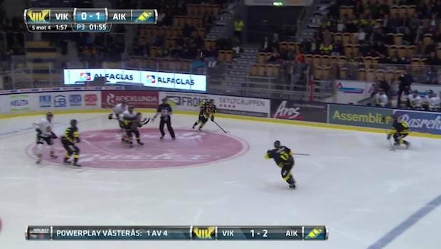 HIGHLIGHTS: Västerås-AIK 1-2