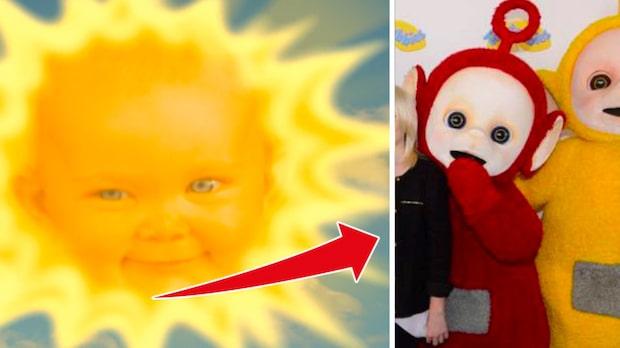 Så ser solbäbisen från Teletubbies ut i dag