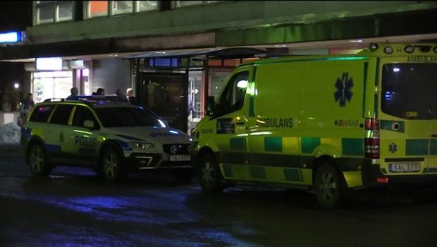 """Polisen om dramatiska guldrånet: """"Söker efter minst tre personer"""""""