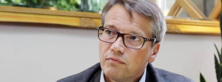 Socialminister Göran Hägglund kallar Julian Assange för fegis i samband med att brittiska tidningen The Guardian publicerade uppgifter om att Wikileaks-grundaren skulle fått asyl i Ecuador. Foto: Cornelia Nordström