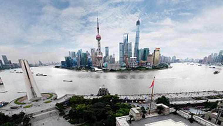 Bilden, med 24,9 miljarder pixlar på Shanghai har blivit ett fenomen på nätet. Foto: Bix Pixel