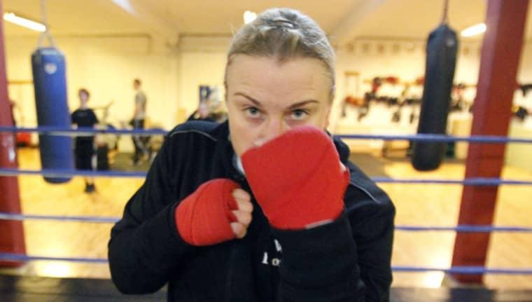 Maria Lindberg ställs hon mot Gifty Ankrah i en ny VM-match. Foto: Ronny Johannesson