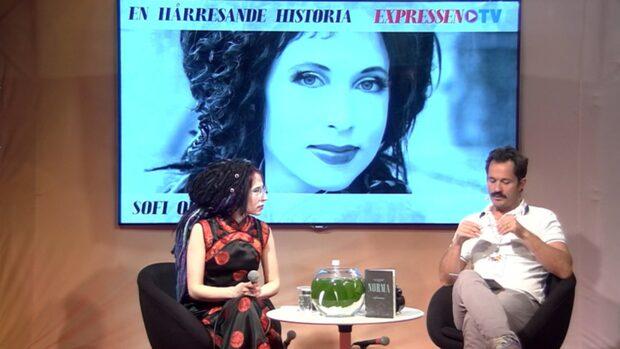 Världsförfattaren Sofi Oksanen gästar Expressens monter