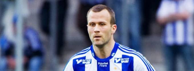 Hjalmar Jonsson förlänger sitt kontrakt med Blåvitt. Foto: Carl Sandin