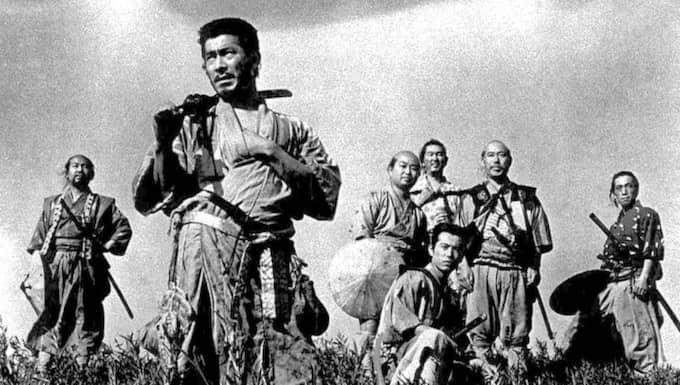 """Raritet. Akiro Kurosawas """"De sju samurajerna"""" är den typ av kvalitetsfilm som har blivit svårare att finna sedan videobutikerna slagit igen. Foto: Kyodo News"""