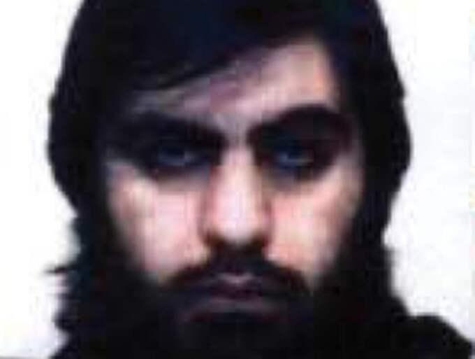 Hassan Al-Mandlawi, 32, döms till livstids fängelse för terrorbrott. Foto: Polisen
