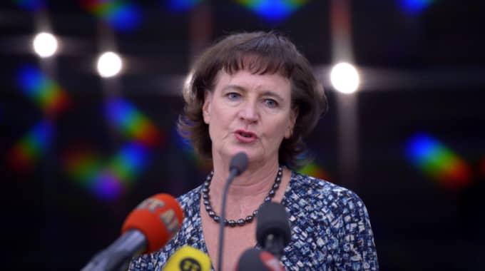 Kommunals ordförande Annelie Nordström menar att Margot Wallström måste ha missförstått gällande lägenheten. Foto: Henrik Montgomery/Tt
