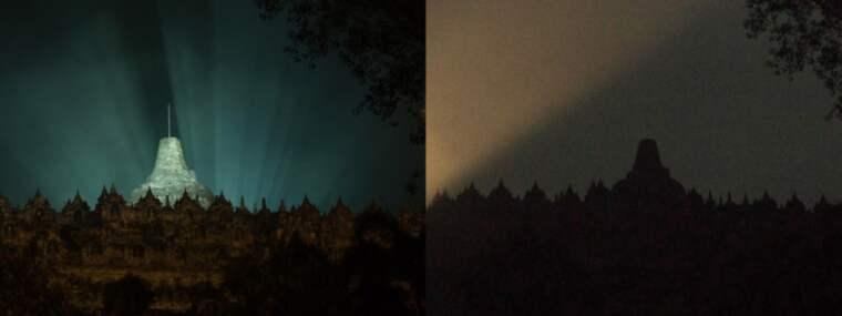 Borobudur Buddhisttempel i Magelang i Indonesien. Foto: Dhana Kencana / Epa / Tt / EPA TT NYHETSBYRÅN