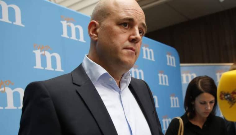 Fredrik Reinfeldt lovar ingenting nytt – utan ber om öppenhet och tålamod. Foto: Lisa Mattisson