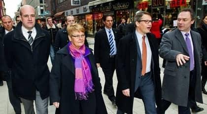Trots upprepade möten mellan Fredrik Reinfeldt och alliansens partiledare består oenigheten. Foto: Christian Örnberg