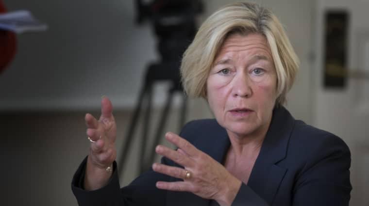 Anneli Hulthéns högra hand föreslås till ny stadsdelsdirektör i Östra Göteborg. Foto: Per Wissing
