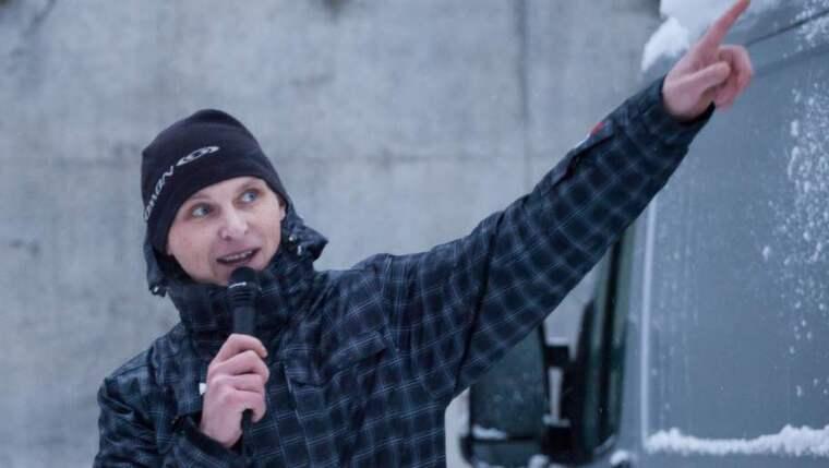 Kamil Ryba döms till sex månaders fängelse för brott mot medborgerlig frihet för hoten mot GT:s redaktion. Foto: Alejandro Decap / Demotix