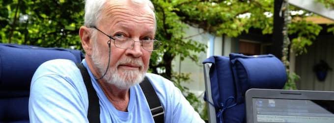 Härrydapolitikern och Sverigedemokraten Willy Christiansson utesluts. Foto: Tommy Holl