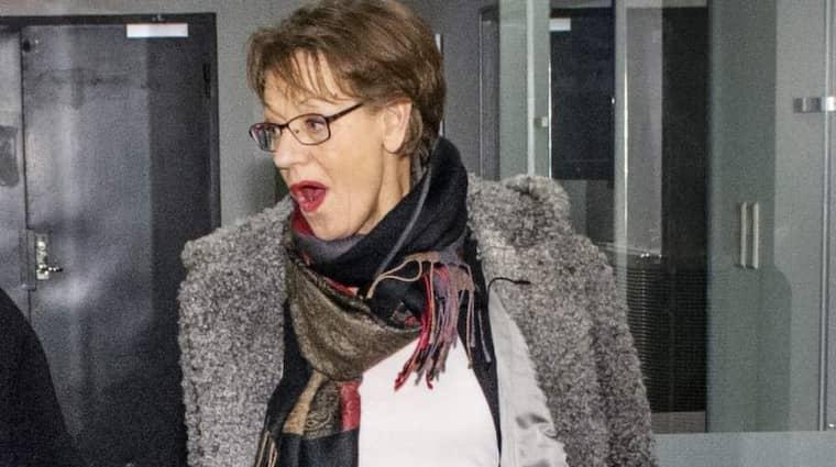 Fi:s partiledare Gudrun Schyman bedriver en intensiv valkampanj och reser landet runt för att prata för ett mer feministiskt Sverige. Foto: Emil Nordin