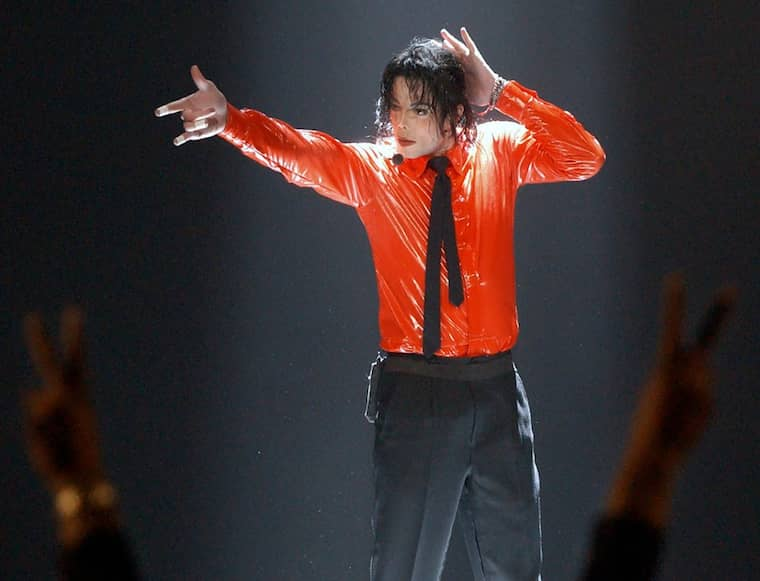 Kungen av pop. Foto: Kevork Djansezian
