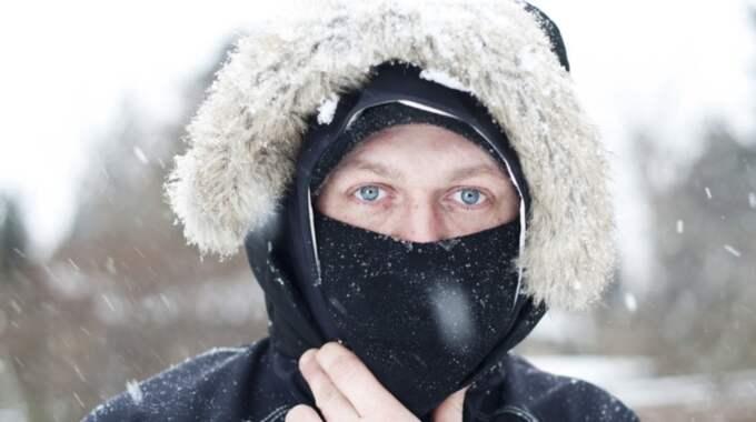 Den hiskeliga kylan kommer att hålla Sverige i sitt benhårda grepp i flera dagar till. Foto: Jimmi Larsen Foto