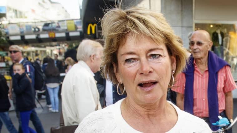Tidigare kulturministern Lena Adelsohn Liljeroth (M) menar att svenska medier förtiger sanningen om invandringen. Foto: Emil Nordin