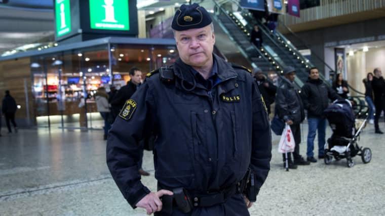 Polisinspektör Anders Karlsson, som ligger bakom debattartikeln där skarp kritik riktas mot rikspolischef Dan Eliasson. Foto: Anders Ylander