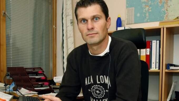 Magnus Lindegren, chef för bedrägerisektionen i Göteborg. Foto: Jan Wiriden