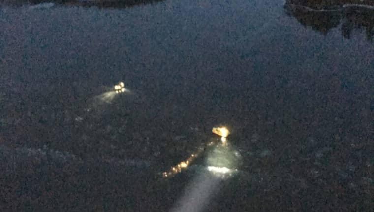 Informationen om isbrytningen skickades ut först åtta timmar efteråt. Då hade redan en van skridskoåkare, en man i 70-årsåldern, varit ute på isen i flera timmar. Morgonen efter hittades han död i isrännan. Foto: Lifeguard 001/Sjöfartsverket