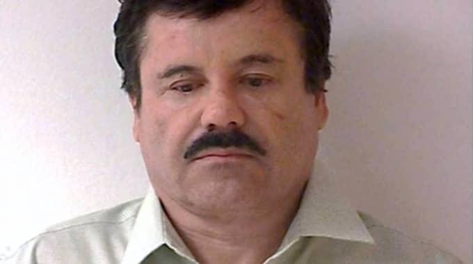 """Joaquin """"El Chapo"""" Guzmán är nu tillbaka i fängelse. Foto: REX/SHUTTERSTOCK"""