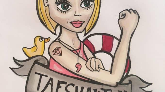 Siri Bernhardsson, 24, har startat initativet Tafsvakten – och ska hålla ett öga på badhuset i Kalmar på lördag.