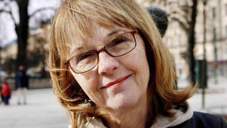 Författaren Bodil Malmsten (1944-2016). Foto: Cornelia Nordström