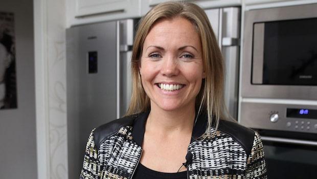 Annika Sjöö - hemma hos dansstjärnan som blev kokboksförfattare