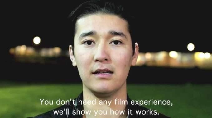 I filmen berättar Sajid Nazari, 17, om Göthenburgos nya projekt.