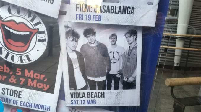 Viola Beach skulle spelat i hemstaden Warrington den 12 mars. Foto: Tomas Kvarnkullen