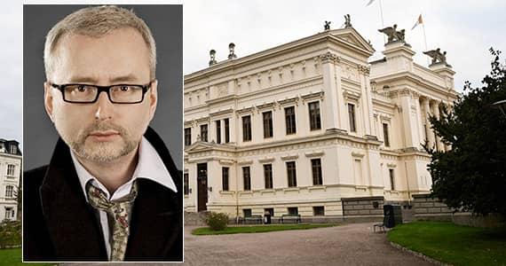Professor Dick Harrisson vid Lunds universitet. Foto: Idha Lindhag.
