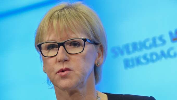 Den minister som har tappat mest i förtroende i den nya mätningen, jämfört med den senaste är utrikesminister Margot Wallström. Foto: Jonas Ekströmer/TT